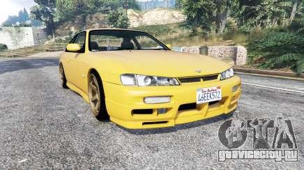 Nissan 200SX (S14a) 1996 v1.1 [replace] для GTA 5
