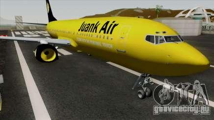Boeing 737-800 Juank Air для GTA San Andreas