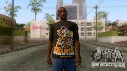 Shantae T-Shirt 1 для GTA San Andreas