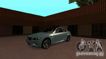 BMW M3 E90 Black Roof для GTA San Andreas