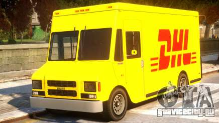 DHL TNT Skins for Boxville для GTA 4