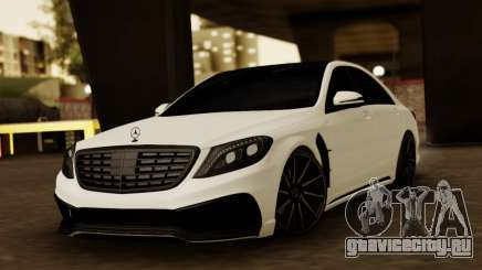 Mercedes-Benz S63 WALD Black Bison для GTA San Andreas