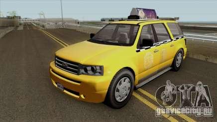 GTA V Vapid Taxi для GTA San Andreas