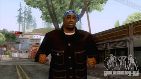 Crips & Bloods Fam Skin 8 для GTA San Andreas