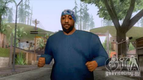 Crips & Bloods Fam Skin 1 для GTA San Andreas
