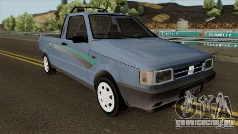Fiat Fiorino LX для GTA San Andreas вид изнутри