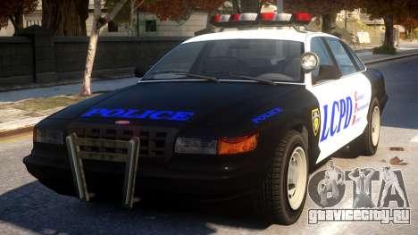 GTA 5 Vapid Police для GTA 4