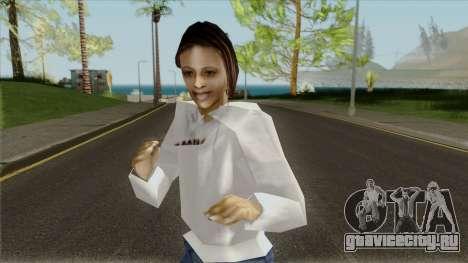 Девушка в толстовке для GTA San Andreas