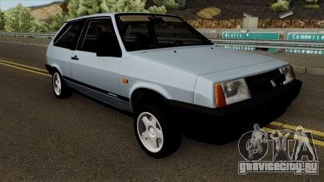 ВАЗ 2108 Короткокрылая для GTA San Andreas вид изнутри