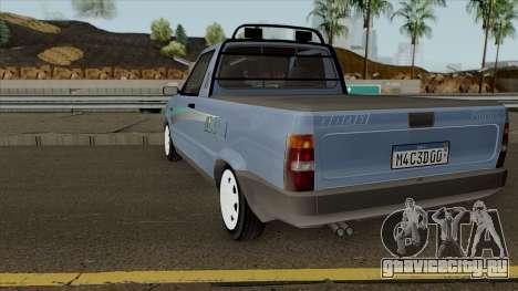 Fiat Fiorino LX для GTA San Andreas вид сзади слева