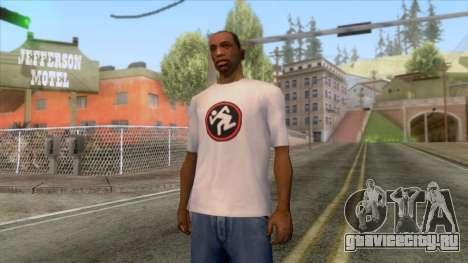 Новая футболка CJ D.R.I. для GTA San Andreas