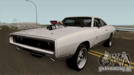 Dodge Charger RT 1970 FnF 7 для GTA San Andreas