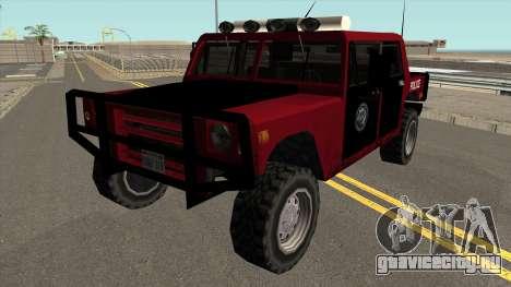 Patriot Police в стиле SA для GTA San Andreas