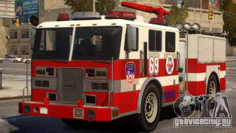 Fire Truck Real New York для GTA 4