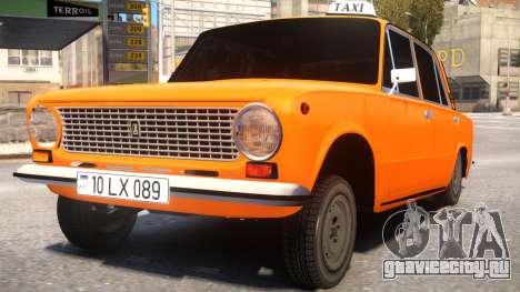 VAZ 21011 Taxi Style By Nicat для GTA 4