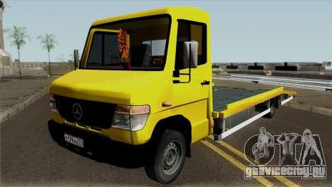 Mercedes-Benz Vario Tow Truck для GTA San Andreas