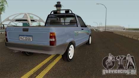 Fiat Fiorino LX для GTA San Andreas вид справа
