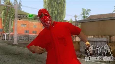 Crips & Bloods Ballas Skin 6 для GTA San Andreas