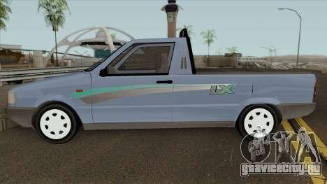 Fiat Fiorino LX для GTA San Andreas вид слева