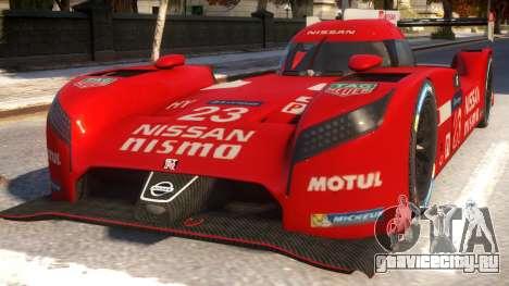 Nissan GTR LM для GTA 4
