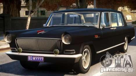 Hong Qi (Red Flag) CA770 Sedan для GTA 4