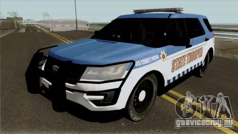 Ford Explorer 2012 Red County Police для GTA San Andreas