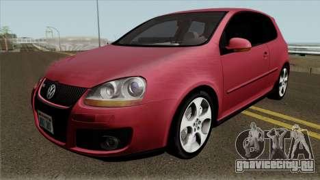 Volkswagen Golf Mk5 GTI Hatchback для GTA San Andreas