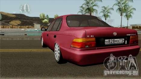 Toyota Corolla 1.6 XEi 1995 для GTA San Andreas