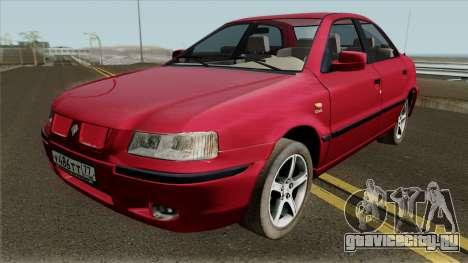 Iran Khodro Samand LX (IVF) Sedan для GTA San Andreas