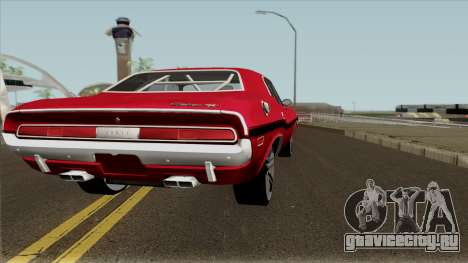 Dodge Challenger RT 1970 для GTA San Andreas