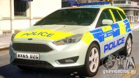 Police Ford Focus Estate для GTA 4