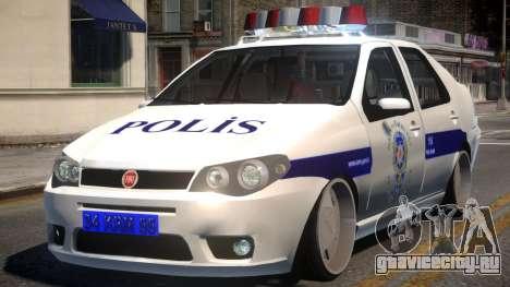 Fiat Albea Turk Police для GTA 4