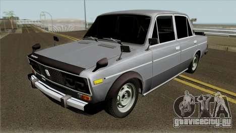 ВАЗ 2106 Боевая Классика для GTA San Andreas