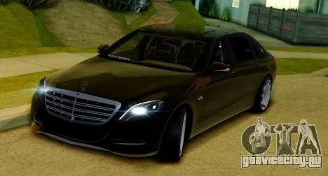 Mercedes-Benz W222 Maybach для GTA San Andreas