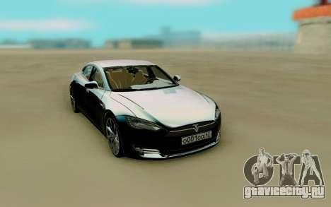 Tesla Model S Super для GTA San Andreas