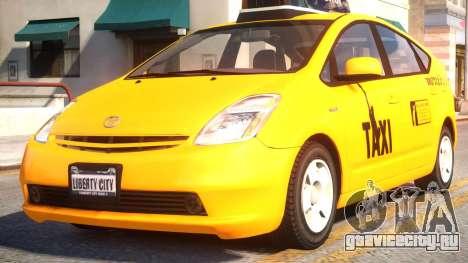 Toyota Prius II Liberty City Taxi для GTA 4