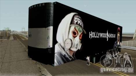 Remolque Hollywood Undead для GTA San Andreas
