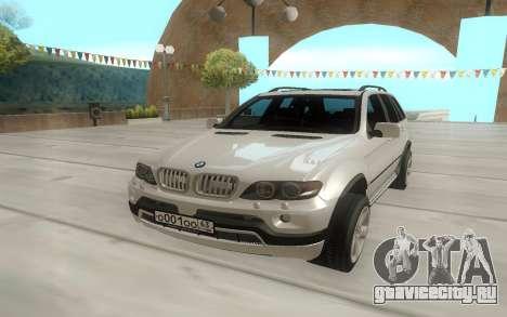 BMW X5 E53 для GTA San Andreas