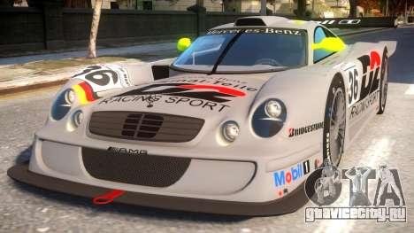 Mercedes-Benz CLK для GTA 4