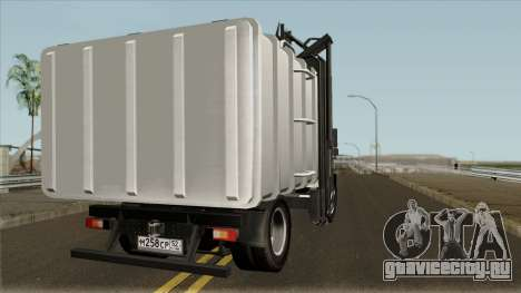 ГАЗон Next мусоровоз для GTA San Andreas