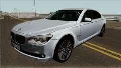 BMW 750i F01 для GTA San Andreas