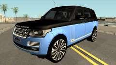 Land Rover Range Rover SVA 4x4 для GTA San Andreas
