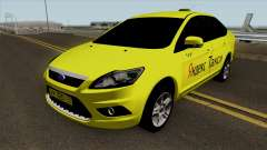 Ford Focus 2 Sedan 2009 Yandex Taxi для GTA San Andreas