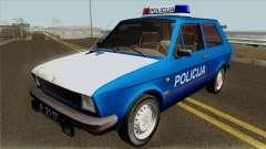 Yugo Koral Policija для GTA San Andreas