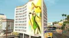 """Лия из Мультфильма """"Гнездо Дракона"""" для GTA San Andreas"""
