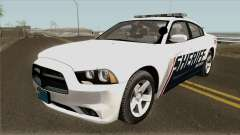 Dodge Charger Red County Sheriff Office 2013 для GTA San Andreas