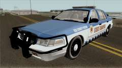 Ford Crown Victoria 2011 Red County Police для GTA San Andreas