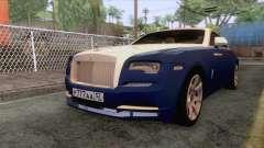 Rolls-Royce Wraith 2017 для GTA San Andreas