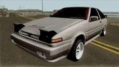 Toyota Sprinter Trueno AE86 Hatchback для GTA San Andreas
