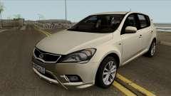 Kia Ceed 2011 Hatchback для GTA San Andreas